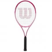 Raquete de Tênis Wilson Burn 25 Pink(220g) (9-10 anos)