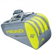 Raqueteira Head Beach Tennis Core Combi - Cinza e Neon