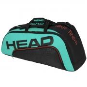 Raqueteira Head Tour Team 6R Combi - verde agua e Vermelho