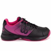 Tênis Wilson ACE PLUS  Preto e pink