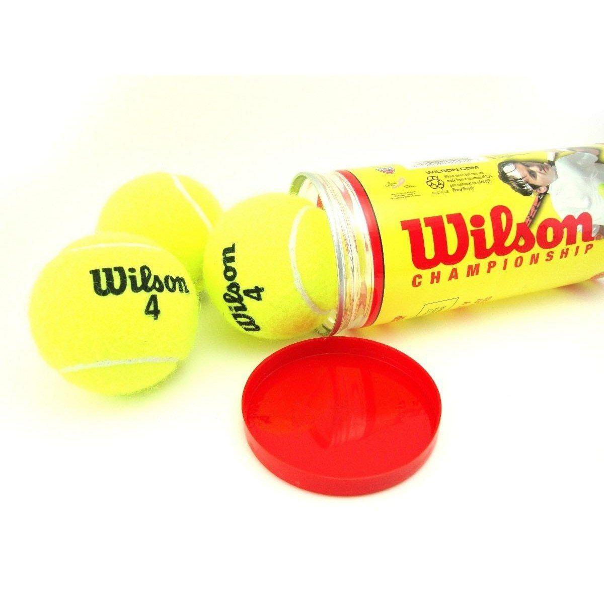 be04470597 Bola De Tênis Wilson Championship Extra Duty - Sou Tenista