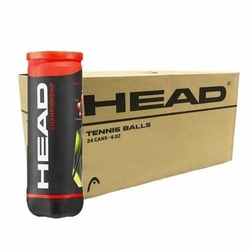 Bola De Tênis Head Championship - Caixa Com 24 Tubos - 72 bolas