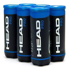 Bola De Tenis Head Pro - Pack Com 6 Tubos 18 Bolas