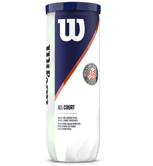 Bola de Tênis Wilson Roland Garros ALL COURT (X3)