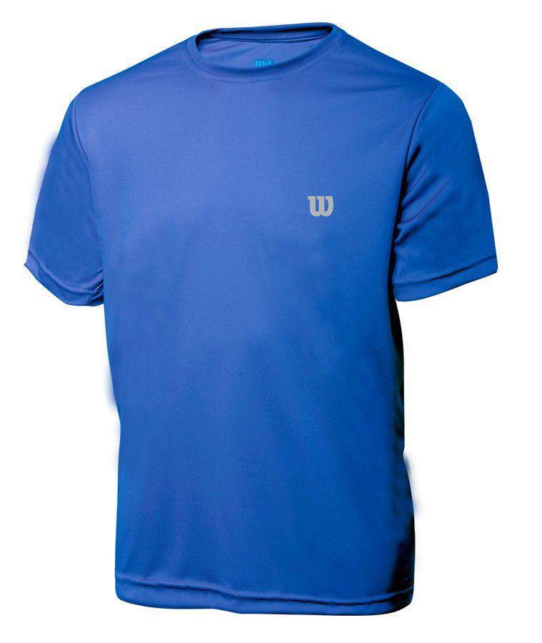 Camiseta Core  Infantil Masculina - Azul royal