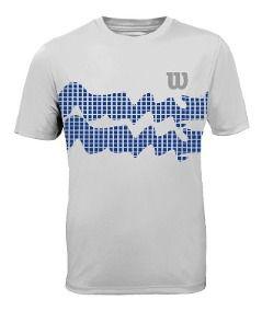 Camiseta Wilson Wave Performance III - Branca
