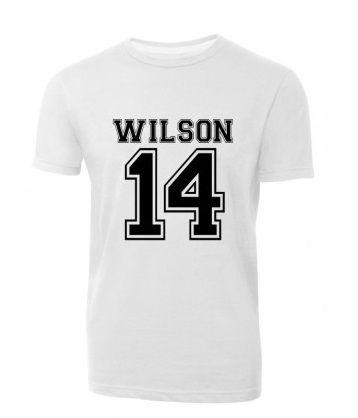 Camiseta Wilson 14 SS BRANCA