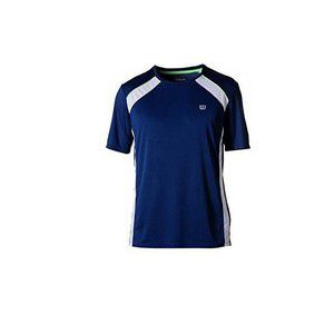 Camiseta Wilson Tour Masculino - Azul Marinho