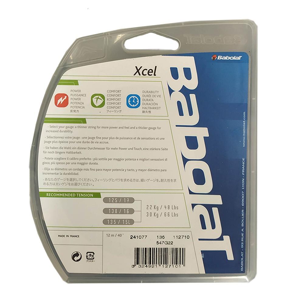 Corda Babolat Xcel 17 1.25mm  Azul - Set Individual