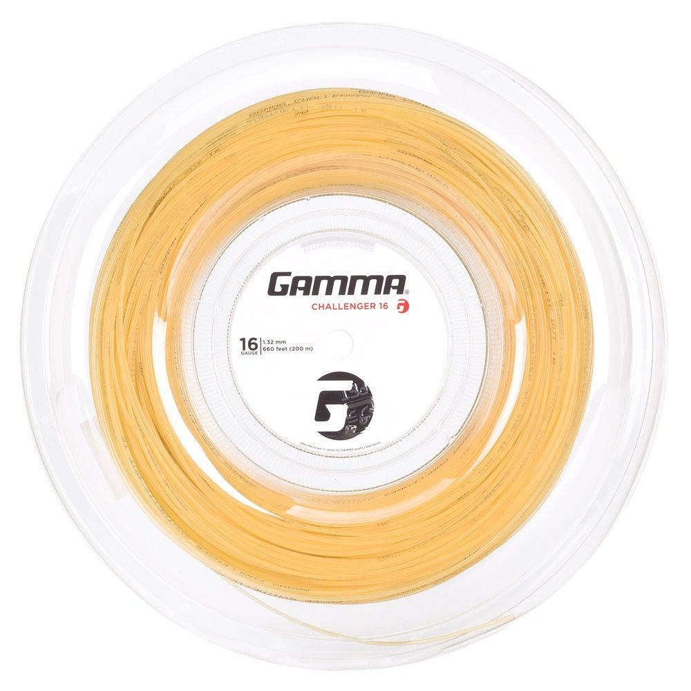 Corda Gamma Challenger 16L 1.32MM Branco Rolo com 200 Metros