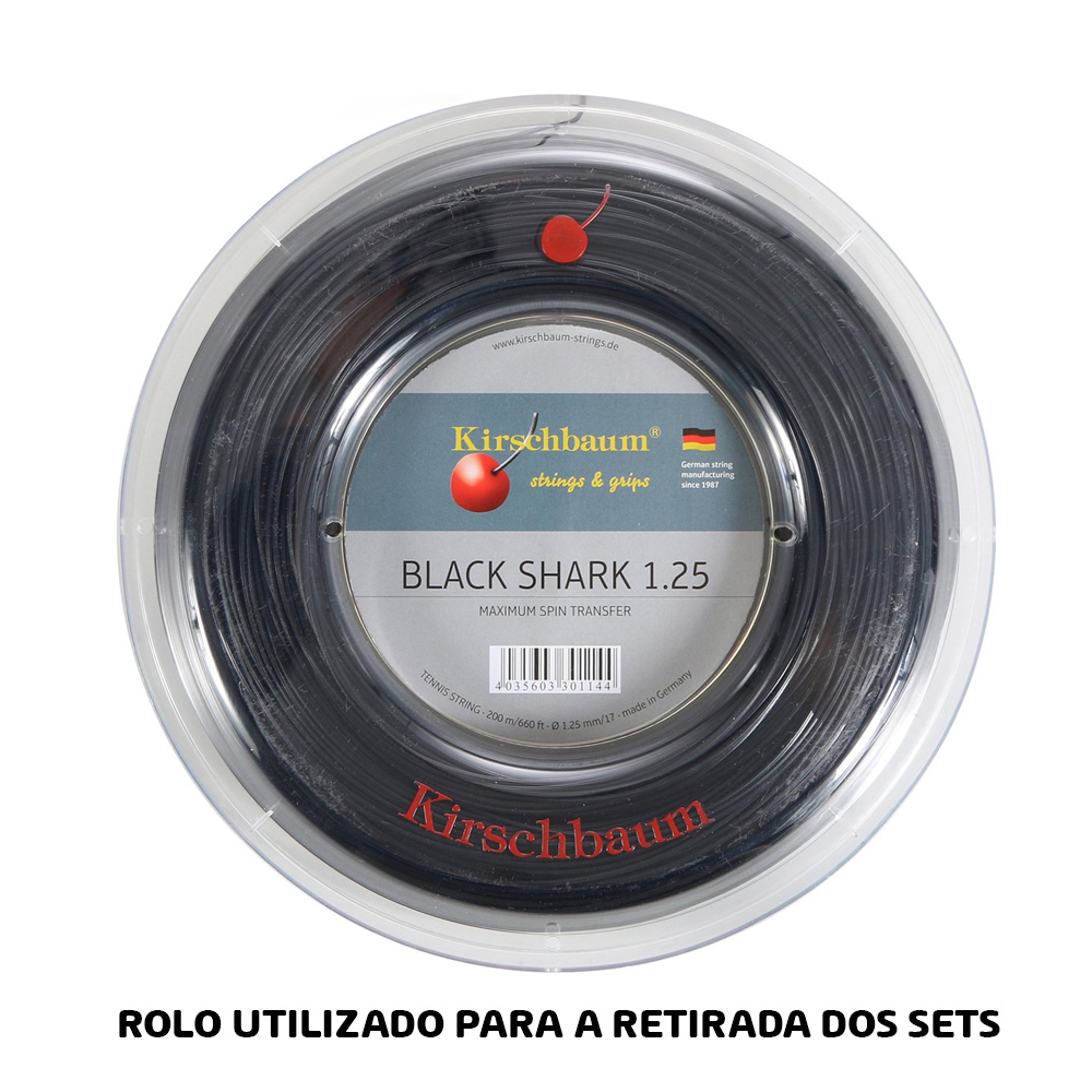 Corda Kirschbaum Black Shark 1.25 - Set Individual - 1.25mm