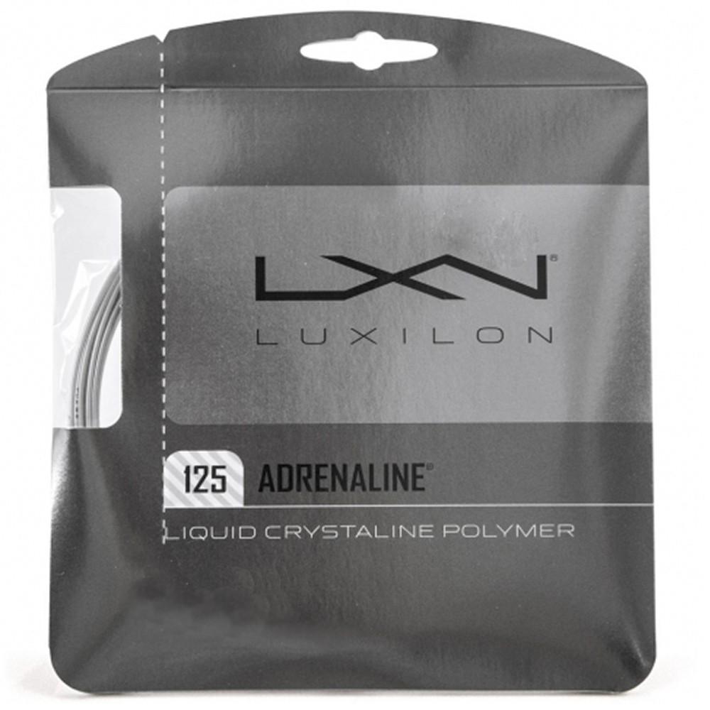 Corda Luxilon Adrenaline 16L 1.25mm Cinza - Set Individual
