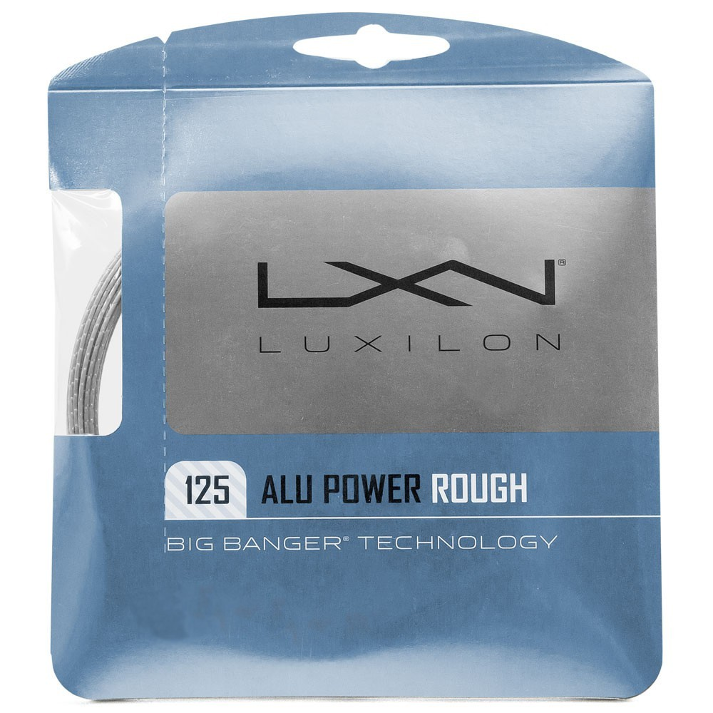 CORDA LUXILON ALUPOWER  ROUGH 1.25MM PRATA - SET