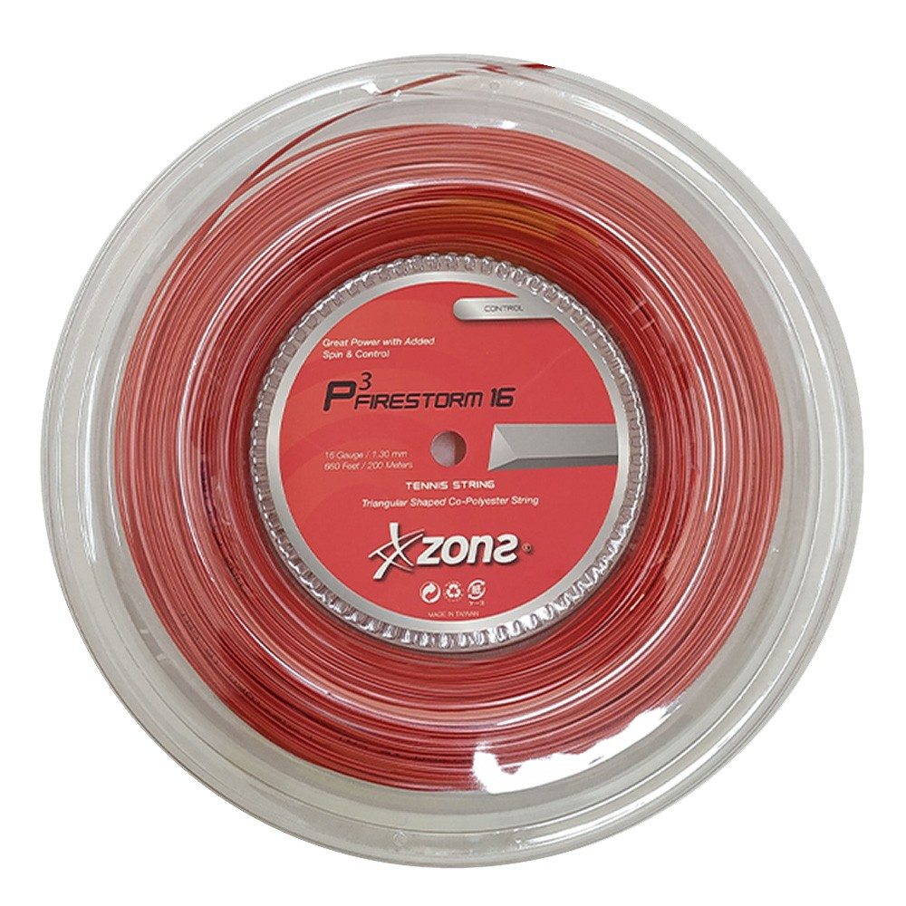 Rolo de Corda Zons Firestorm P3 (triangular) 1.30mm - 200m