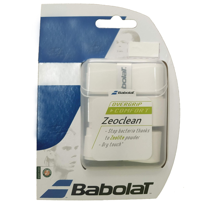 Overgrip Babolat Zeoclean Branco