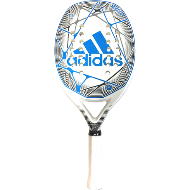 RAQUETE ADIDAS BEACH TENNIS MATCH - BRANCO/AZUL