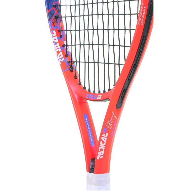 Raquete de Tênis Head Junior Radical 23 - Laranja/Azul (215g) (6-8 anos)