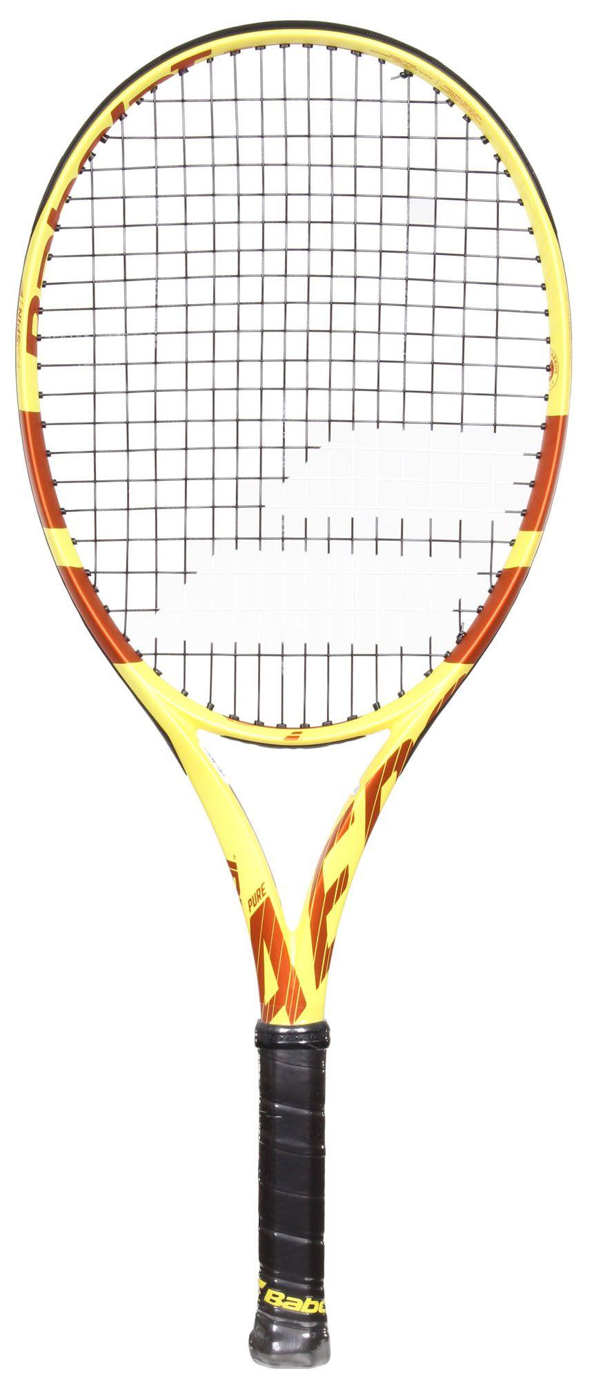Raquete de Tênis Babolat Pure Aero Roland Garros JR 26 (250g) (10-12 anos)