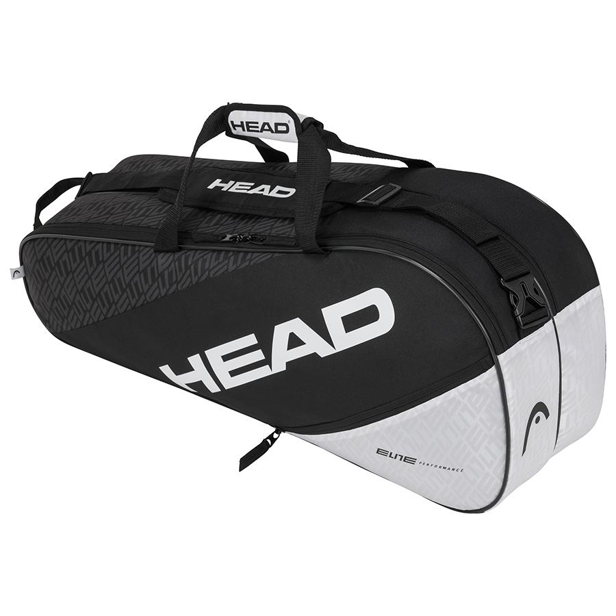 Raqueteira Head Elite 6R Combi - Preta