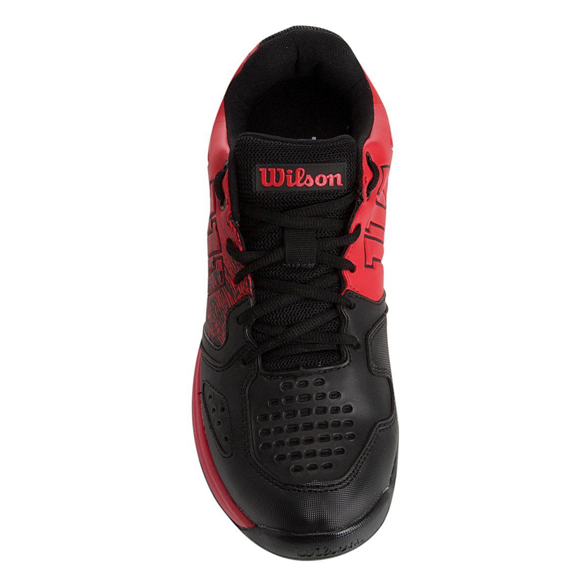 Tênis Wilson K Ultimate Vermelho E Preto