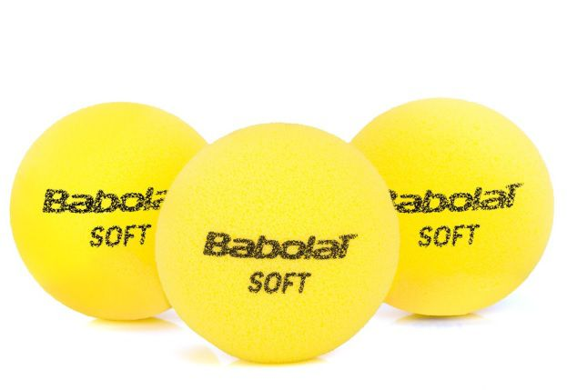 Trio Bola Infantil Babolat Soft Foam