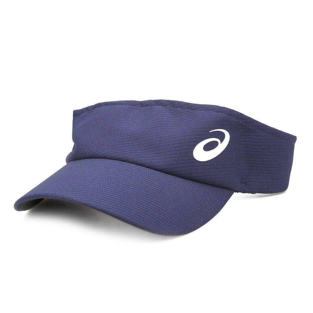 Viseira Asics Azul Marinho