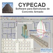 Treinamento À Distância do Software CYPECAD, com duração de 16 horas, nos dias 19/06/18, 21/06/18, 26/06/18 e 28/06/18 Via Internet