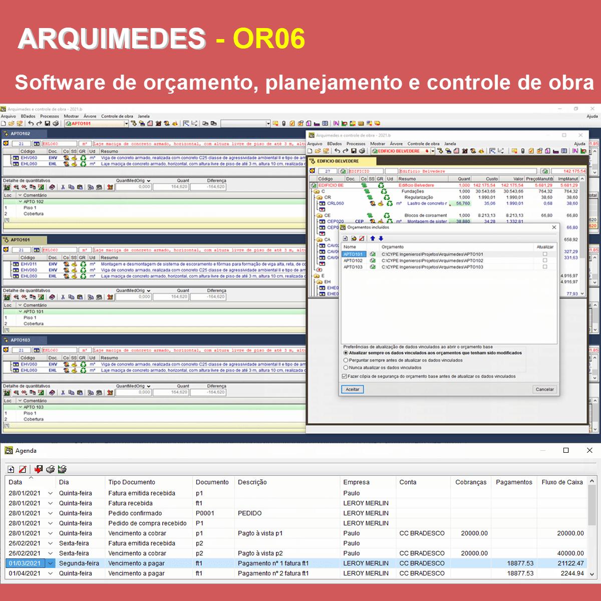 """Software Arquimedes OR06 versão 2021 (Licença Eletrônica) incluindo a modulação descrita em """"Itens Inclusos"""" a seguir  - MULTIPLUS SOFTWARES"""