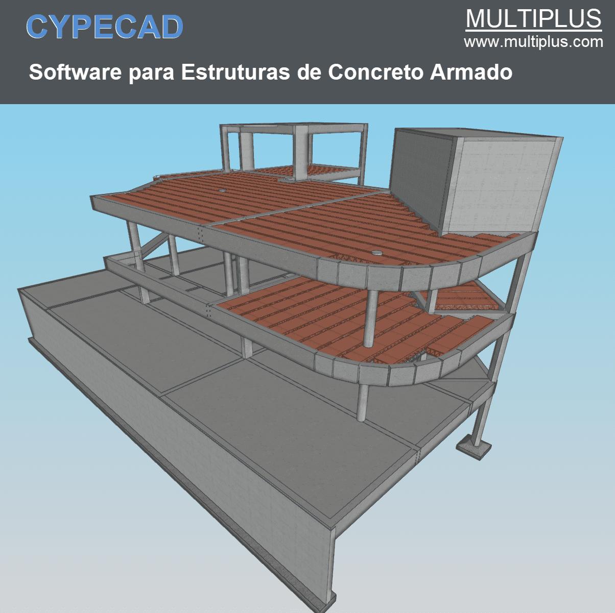 """Software CYPECAD LT30 PRO versão 2022 (Licença Eletrônica) incluindo a modulação descrita em """"Itens Inclusos"""" a seguir  - MULTIPLUS SOFTWARES"""