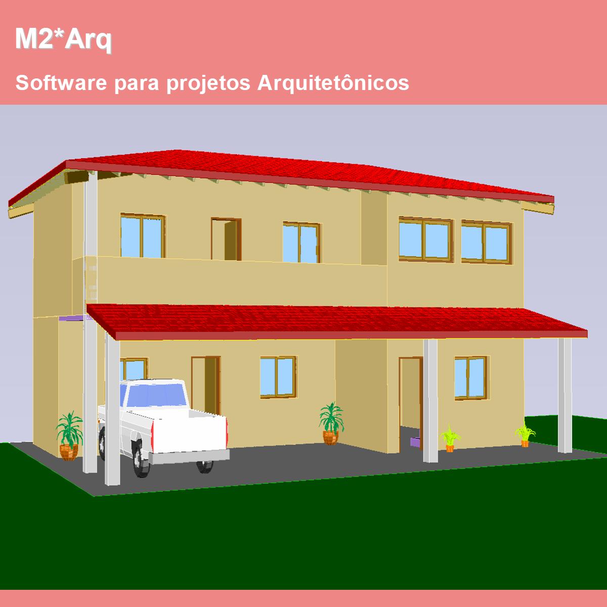 Software M2*Arq versão 2019