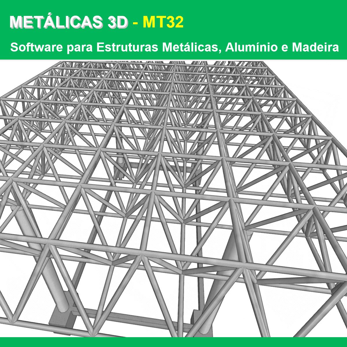 """Software Metálicas 3D MT32 versão 2022 (Licença Eletrônica) incluindo a modulação descrita em """"Itens Inclusos"""" a seguir  - MULTIPLUS SOFTWARES"""