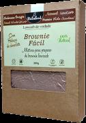 BROWNIE FÁCIL LOW CARB COM CHOCOLATE SEM AÇÚCAR