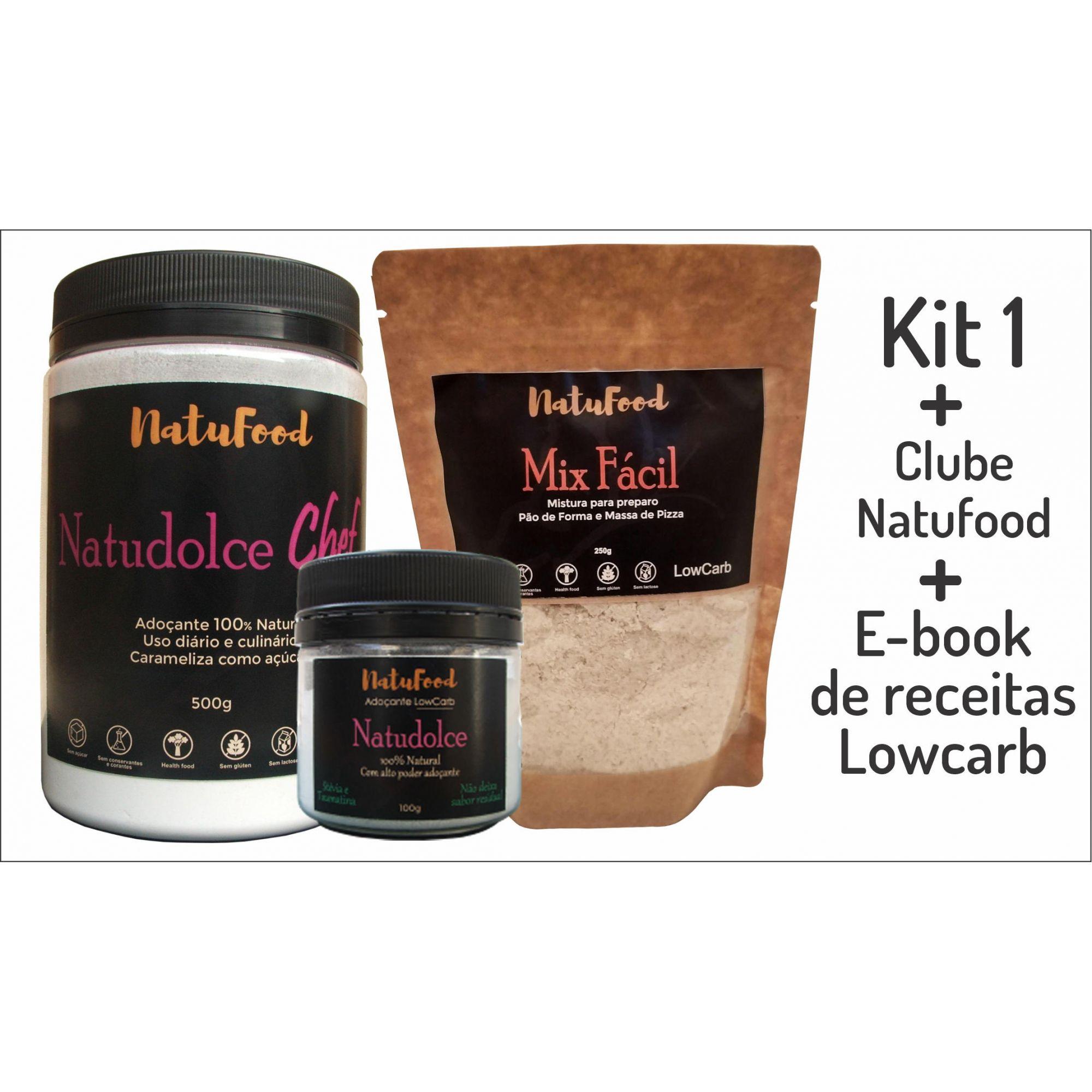 KIT 1 + CLUBE NATUFOOD + E-BOOK  - Natufood