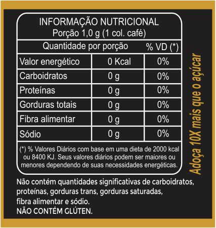 NATUDOLCE concentrado 100g  - Natufood