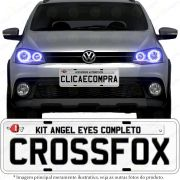 Angel Eyes completo para o farol do Crossfox 2010 2011 2012 2013 2014