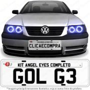 Angel Eyes completo para o farol do Gol G3 1999 2000 2001 2002 2003 2004 2005