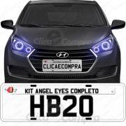 Angel Eyes Completo Para o Farol Do Hyundai Hb20 2016 2017 2018
