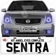 Angel Eyes Completo Para o Farol Do Nissan Sentra 2007 2008 2009 2010
