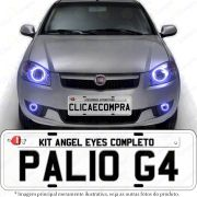 Angel Eyes Completo Para o Farol do Palio G4 2008 2009 2010 2011 2012 2013