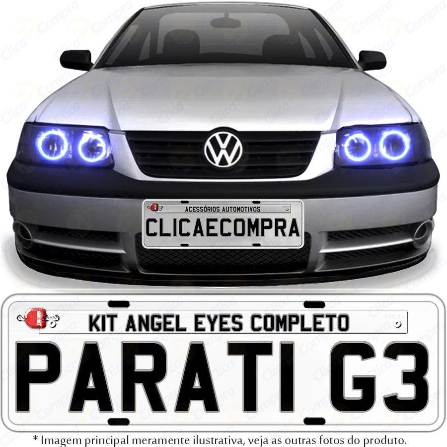 Angel Eyes completo para o farol da Parati G3 1999 2000 2001 2002 2003 2004 2005