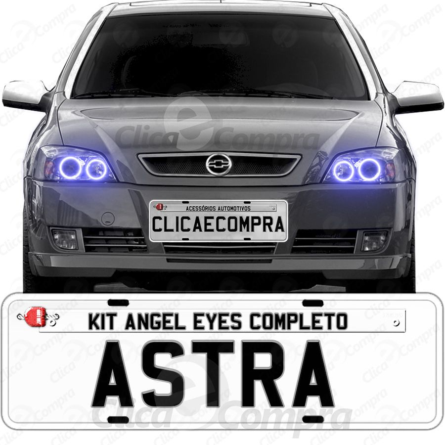 Angel Eyes Completo Para o Farol Do Astra 2003 2004 2005 2006 2007 2008 2009 2010 2011
