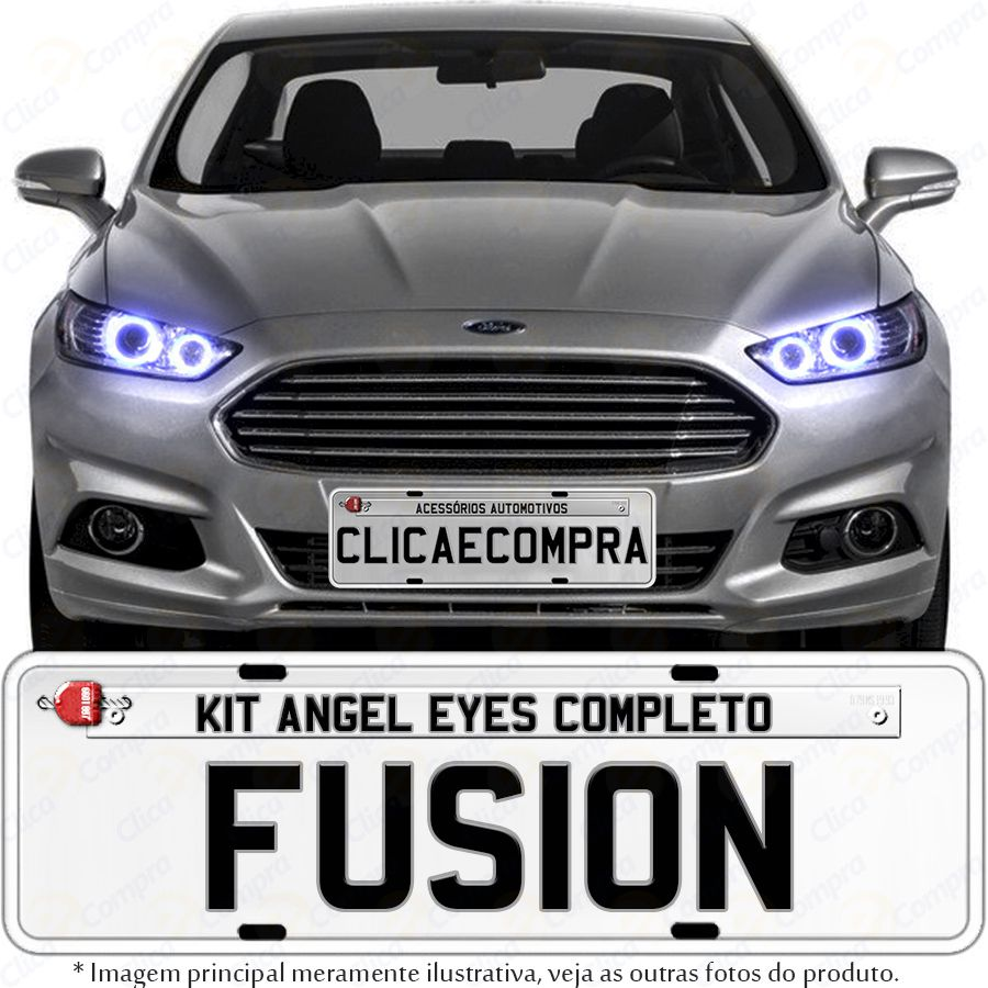 Angel Eyes completo para o farol do Fusion 2013 2014 2015 2016
