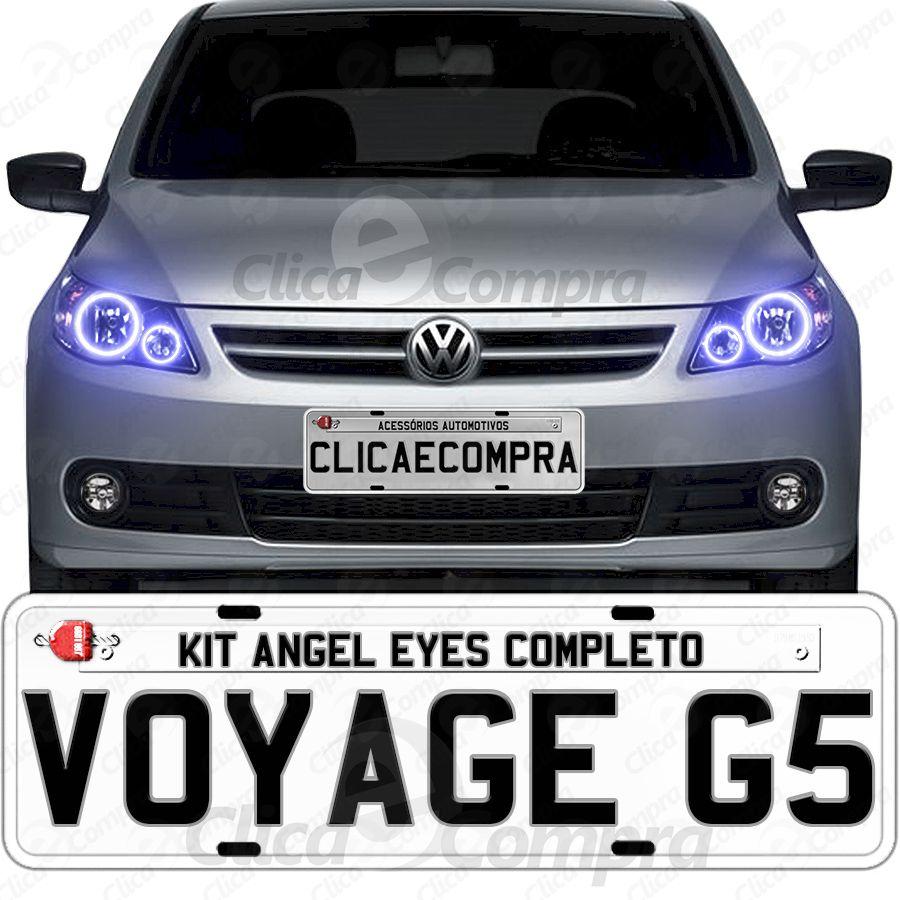 Angel Eyes Completo Para o Farol Do Voyage G5 2009 2010 2011 2012