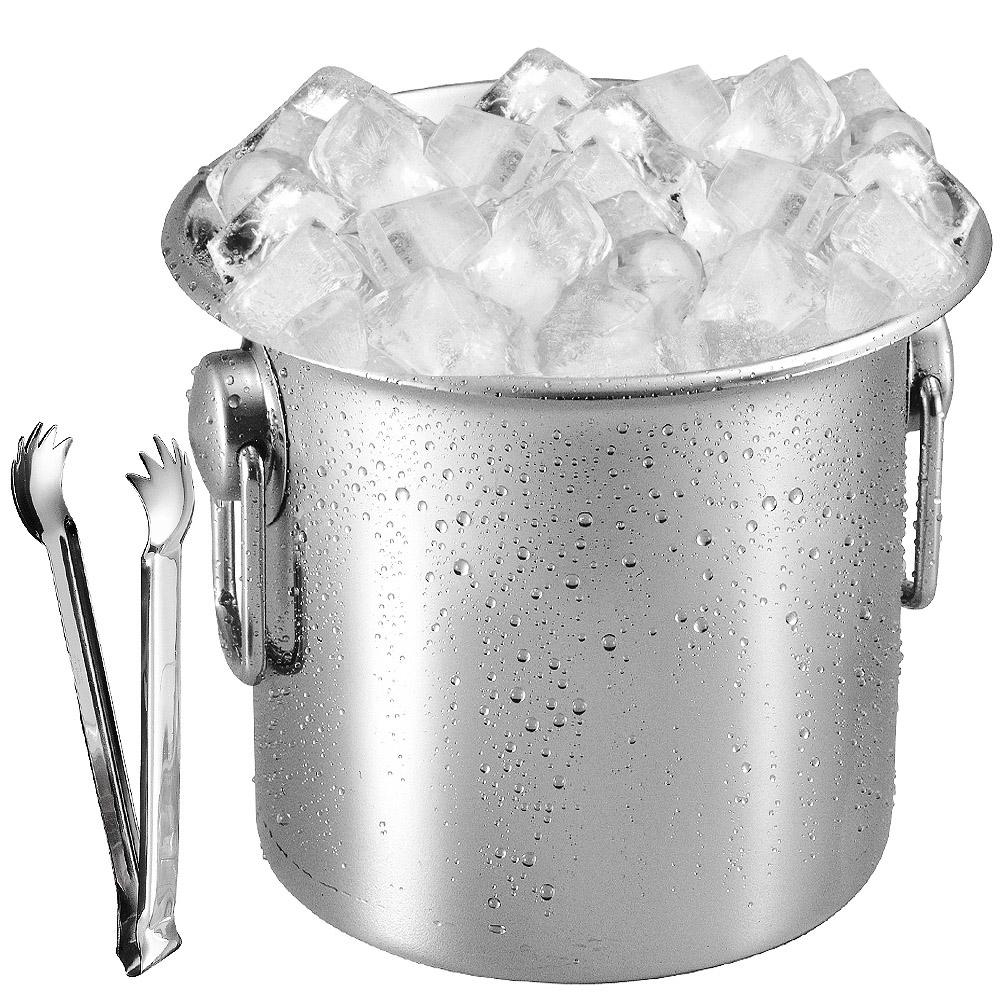 Balde para Gelo e Champanhe em Aço Inox 4 Litros Artinox