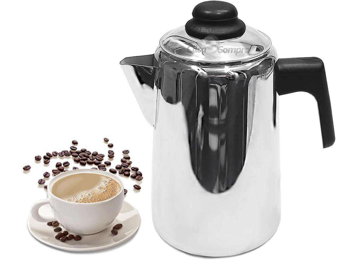 Bule Inox para Café e Leite 2 Litros Art'inox