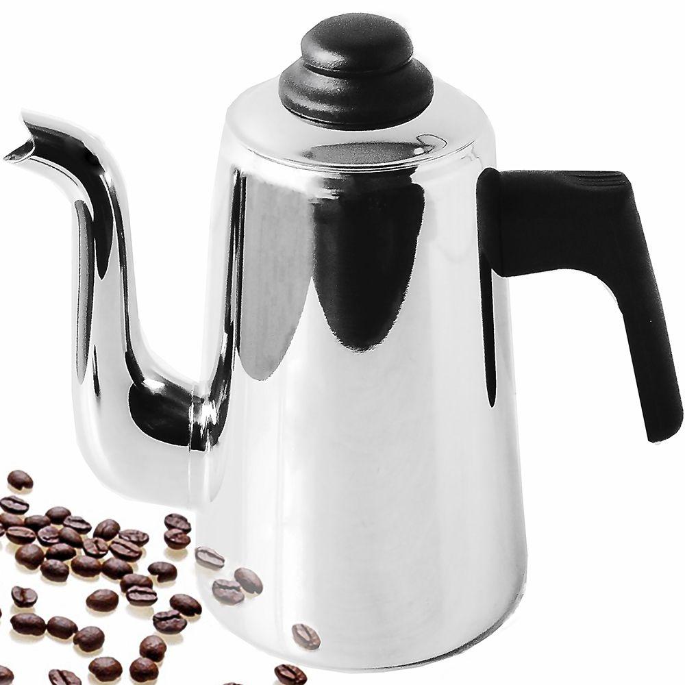 Bule Para Café Aço Inox 1,5 Litros Com Cabo De Baquelite Artinox