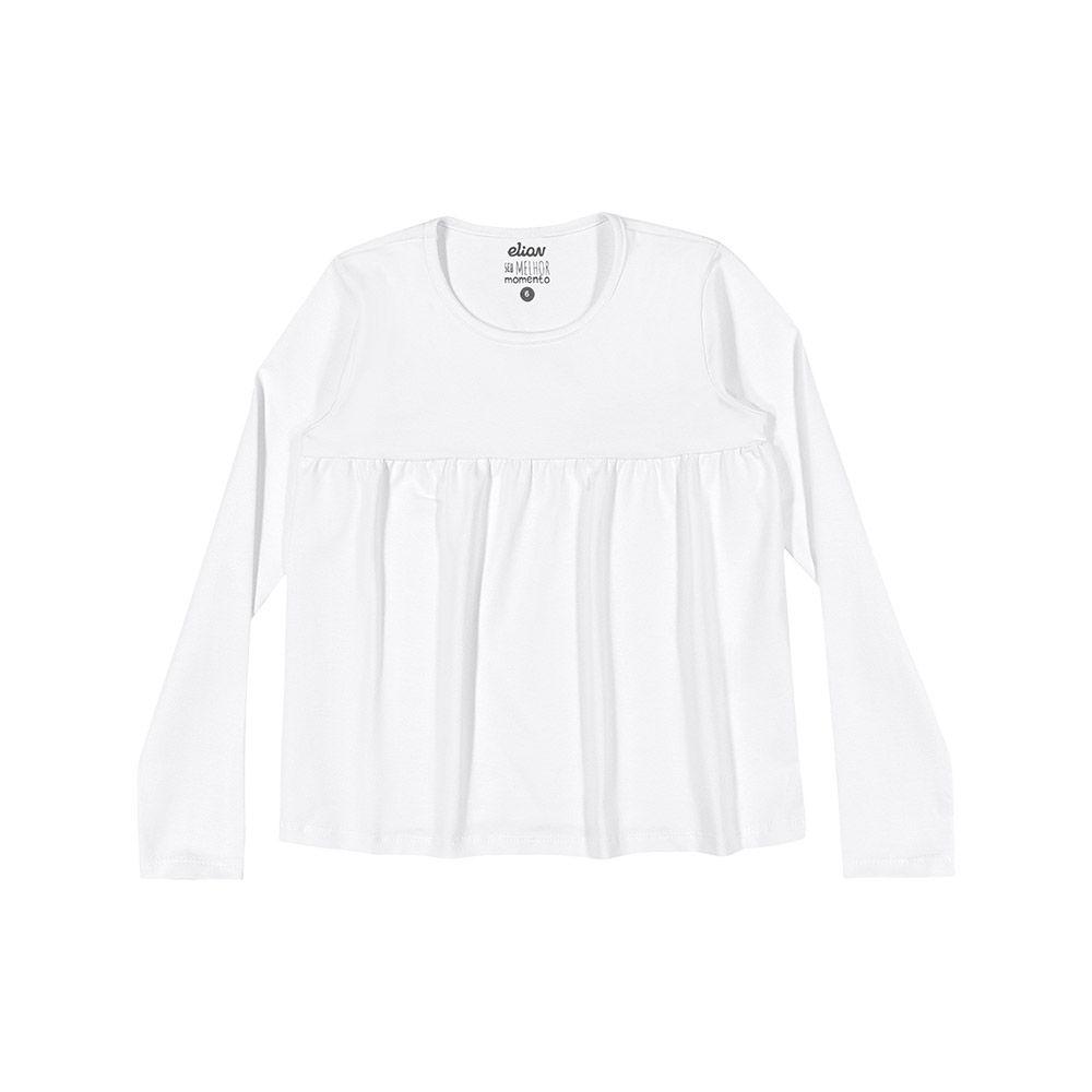 Bata em Cotton Branca