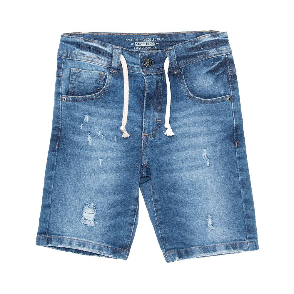 Bermuda Jeans Cordão Mania Kids