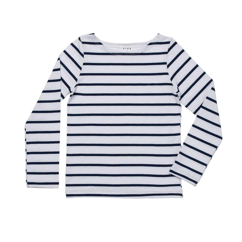 Blusa Cotton Listras Azul
