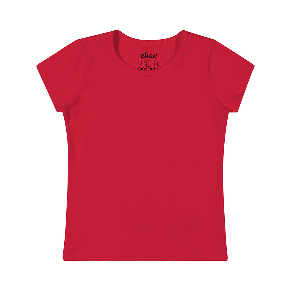 Blusa Cotton Vermelha
